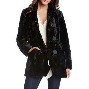 Karen Kane Faux Fur Toggle Jacket